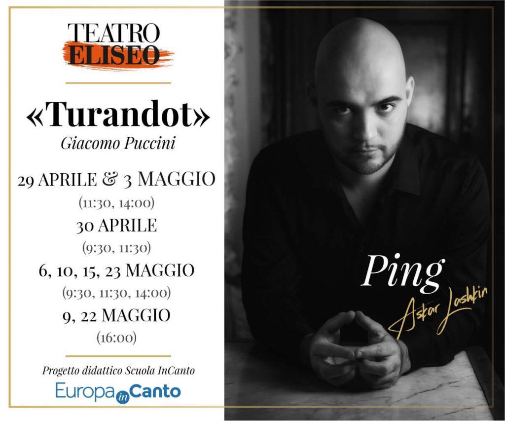 """TURANDOT"" G. Puccini"